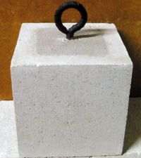 Ring block for popup tents
